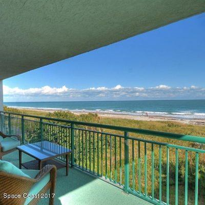 Cocoa Beach Condo For Sale: 3800 Ocean Beach Boulevard #201