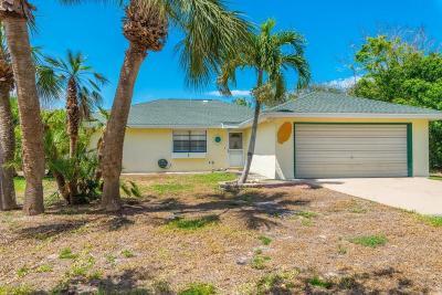 Melbourne Beach Single Family Home For Sale: 110 Duval Street