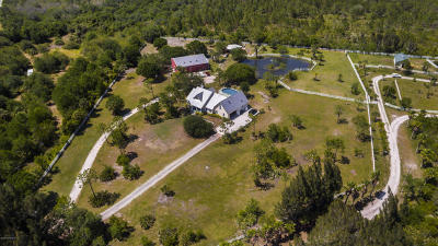 Micco Single Family Home For Sale: 9335 Fleming Grant Road