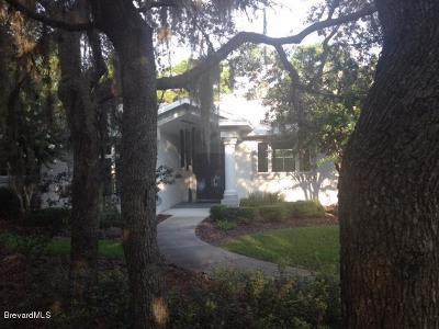 Titusville Single Family Home For Sale: 4020 Osprey Court