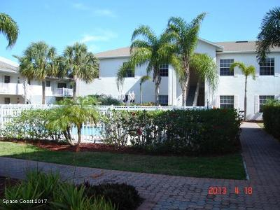 Cocoa Beach Condo For Sale: 160 S Shepard Drive #3