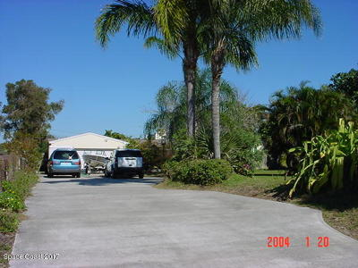 Brevard County Single Family Home For Sale: 120 Coral Way E