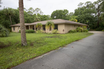 Cocoa Single Family Home For Sale: 2421 Friday Road