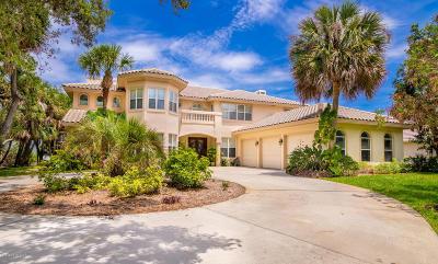 Merritt Island Single Family Home For Sale: 4060 S Tropical Trail