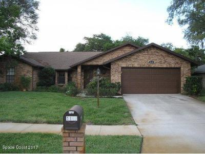 Malabar Single Family Home For Sale: 1140 Hollow Brook Lane