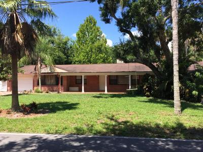 Cocoa Single Family Home For Sale: 4275 N Indian River Drive N