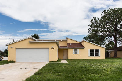 Palm Bay Single Family Home For Sale: 665 Americana Boulevard NE