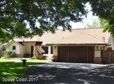 Cocoa Single Family Home Backups: 4365 Peppertree Street