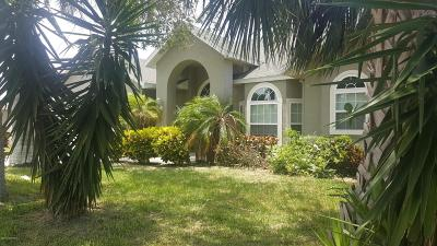 Merritt Island Single Family Home Contingent: 1772 Bayside Street