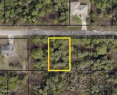 Brevard County Residential Lots & Land For Sale: 160 Halloran Street SE