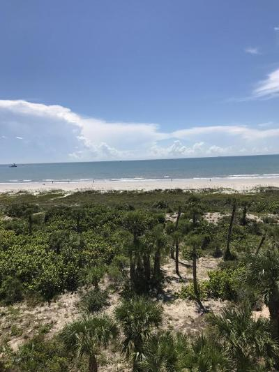 Cape Canaveral Condo For Sale: 605 Shorewood Drive #E502