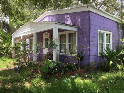 Melbourne Single Family Home For Sale: 1266 Houston Street