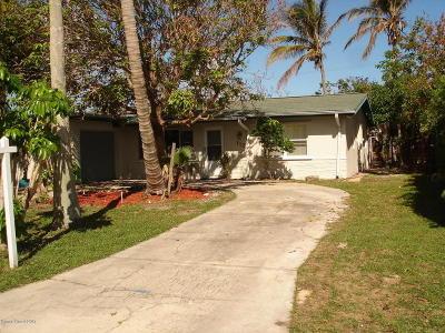 Satellite Beach Single Family Home For Sale: 112 Ocean Spray Avenue