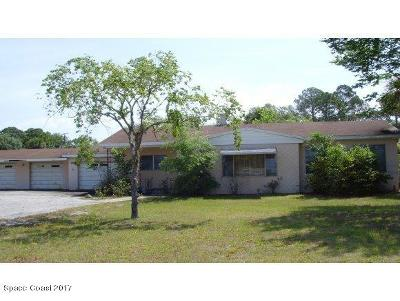 Mims Single Family Home For Sale: 3111 Highway 1