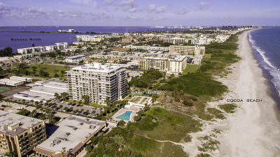 Cocoa Beach Condo For Sale: 2100 N Atlantic Avenue #703