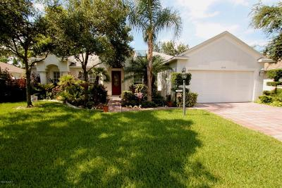 Titusville Single Family Home For Sale: 2538 Christopher Drive