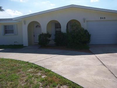 Merritt Island FL Single Family Home For Sale: $299,900