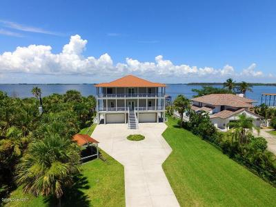 Melbourne Beach Single Family Home For Sale: 8150 Highway A1a