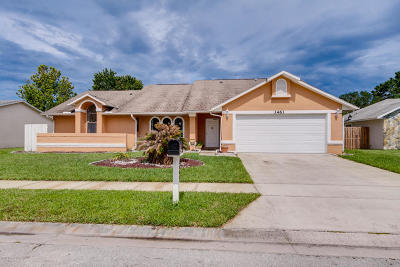 Melbourne Single Family Home For Sale: 3461 Cabbage Palm Avenue