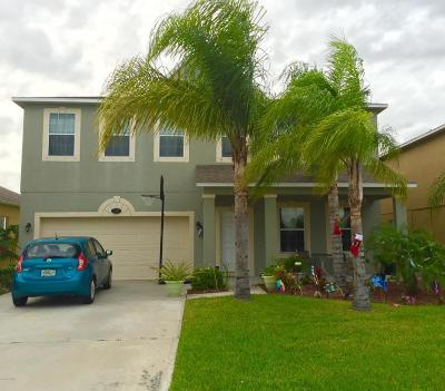 Palm Bay Single Family Home For Sale: 2278 Snapdragon Drive NW