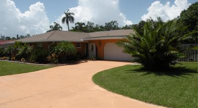 Indian Harbour Beach Single Family Home For Sale: 2130 South Patrick Drive