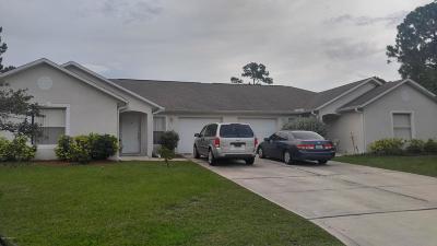 Palm Bay Multi Family Home For Sale: 1667 Desco Street SE #A