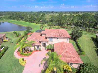 Rockledge Single Family Home For Sale: 5108 Duson Way