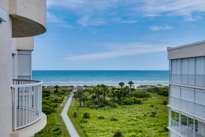 Cape Canaveral Condo For Sale: 703 Solana Shores Drive #507
