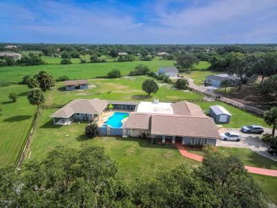 Melbourne Single Family Home For Sale: 3751 Turtle Mound Road