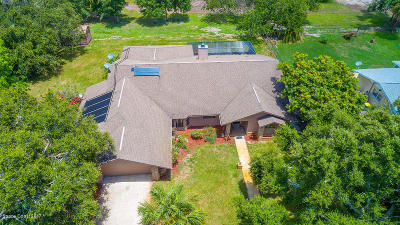 Merritt Island Single Family Home For Sale: 148 Tequesta Harbor Drive