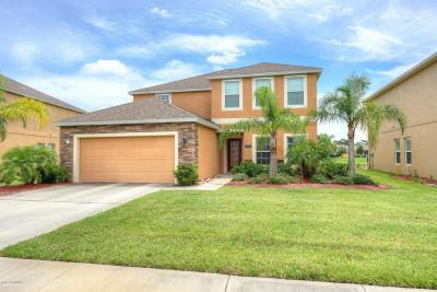 Palm Bay Single Family Home For Sale: 2259 Snapdragon Drive NW