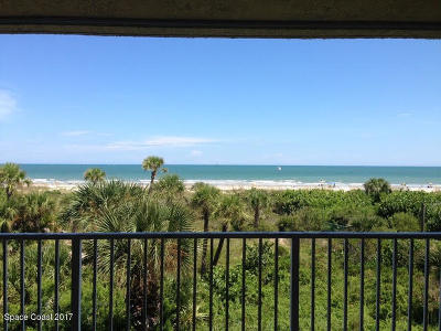 Cape Canaveral Condo For Sale: 605 Shorewood Drive #E304