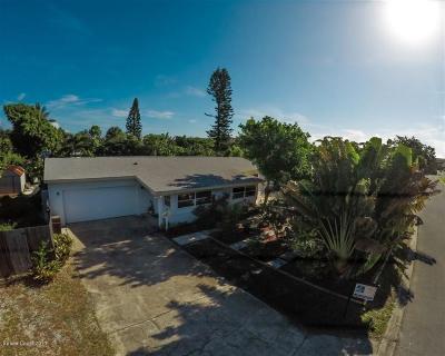 Satellite Beach Single Family Home For Sale: 127 NE 1st Street NE