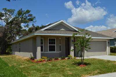 Titusville Single Family Home Contingent: 602 Hollow Glen Drive