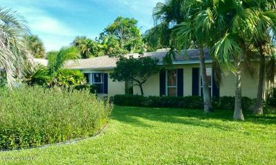 Indialantic, Indialantic, Fl, Indialantic/melbourne, Indialntic, Indian Harb Bch, Indian Harbor Beach, Indian Harbour Beach, Indiatlantic, Melbourne Bch, Melbourne Beach, Satellite Bch, Satellite Beach Single Family Home For Sale: 403 Andrews Drive