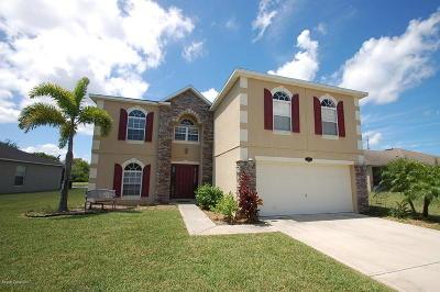 Cocoa Single Family Home For Sale: 1410 Mycroft Drive