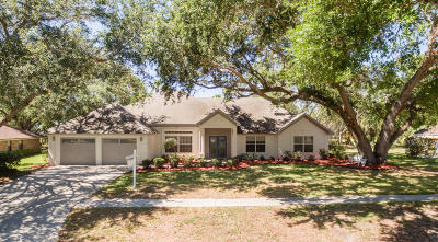 Merritt Island Single Family Home For Sale: 1185 Old Parsonage Drive
