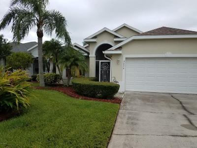 Rockledge Single Family Home For Sale: 2436 Addington Circle