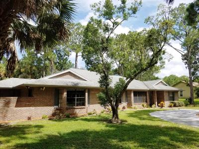 Cocoa Single Family Home For Sale: 2145 Dale Lane