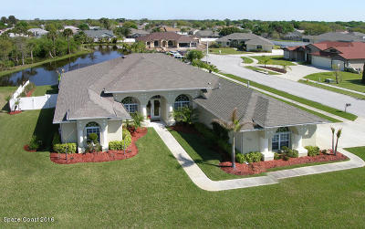 Rockledge Single Family Home For Sale: 1338 Centennial Way
