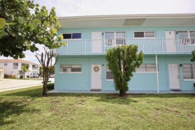 Cape Canaveral Condo For Sale: 8150 Rosalind Avenue #1