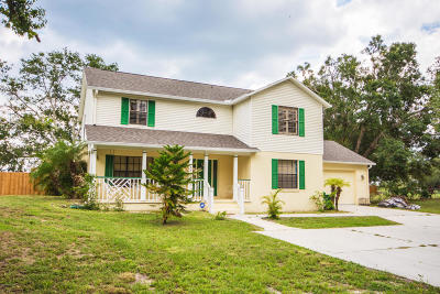 Mims Single Family Home For Sale: 3937 Hammock Road