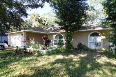 Cocoa Single Family Home For Sale: 7266 Carillon Avenue