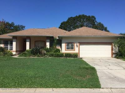 Brevard County Single Family Home For Sale: 1056 Red Bud Circle