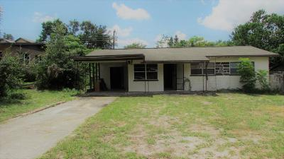 Titusville Single Family Home For Sale: 3935 Alachua Avenue