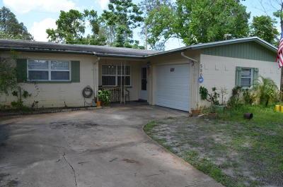 Titusville FL Single Family Home For Sale: $149,000