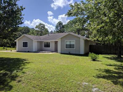 Mims Single Family Home For Sale: 4125 Golden Shores Boulevard