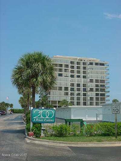 Cocoa Beach Condo For Sale: 2100 N Atlantic Avenue #707