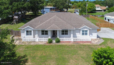 Merritt Island Single Family Home For Sale: 4265 Blossom Circle