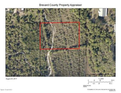 Brevard County Residential Lots & Land For Sale: Fortuna (Past End Of Road) Avenue